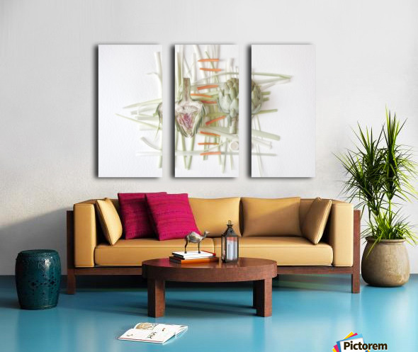 ART.ichoke - 2 Split Canvas print