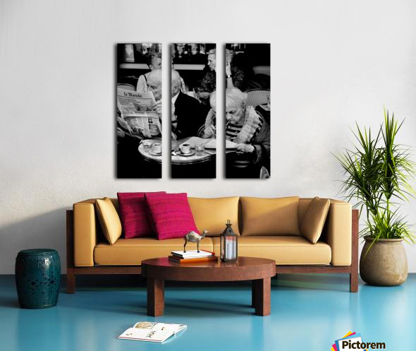 Involvement Split Canvas print