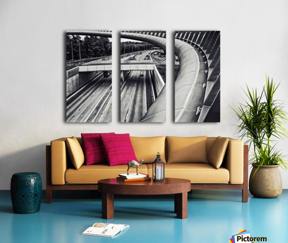 circulation Split Canvas print