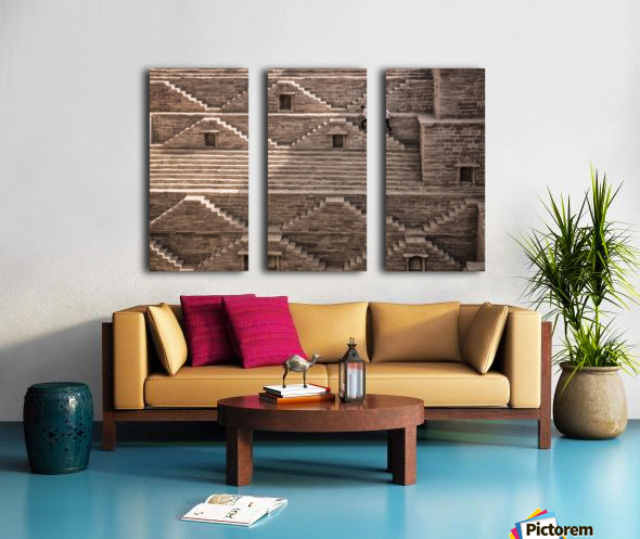geometry Split Canvas print
