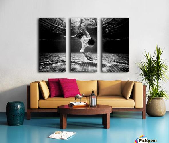 Mercan Split Canvas print