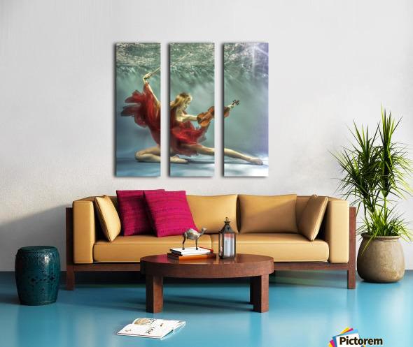Prelude Split Canvas print