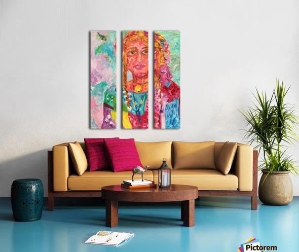 Gypsy Queen Split Canvas print