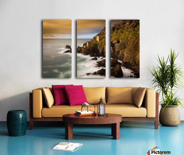 Botallack in 40 seconds Split Canvas print