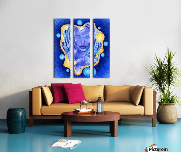 Angeonilium V4 - frozen beauty Split Canvas print