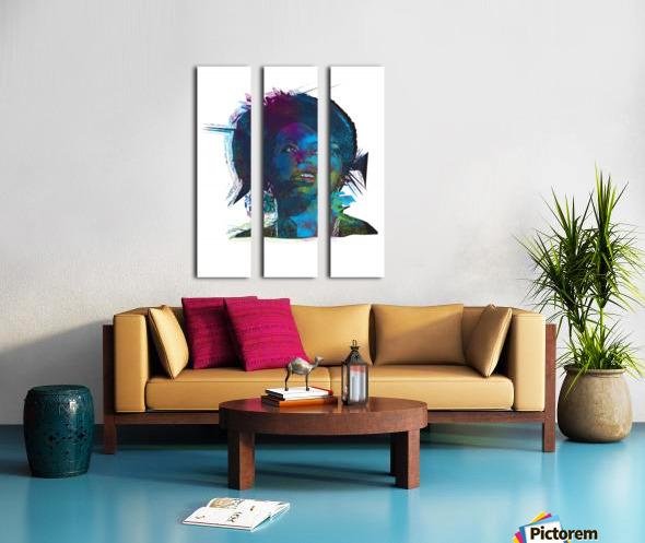 Nina Simon Art  Split Canvas print