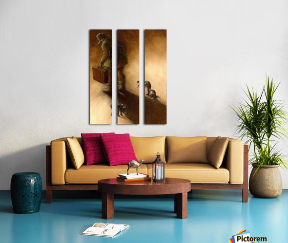 Try to stop Split Canvas print