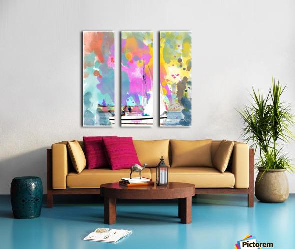 Art197 Split Canvas print