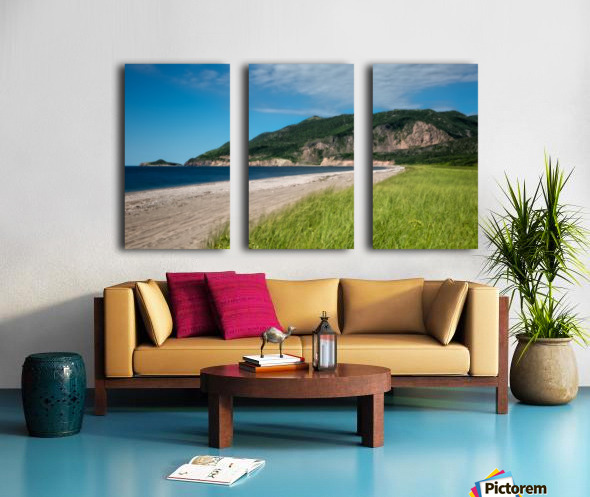 Petit Etang Beach Memories-2 Split Canvas print