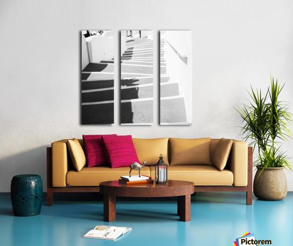 Stairs Split Canvas print