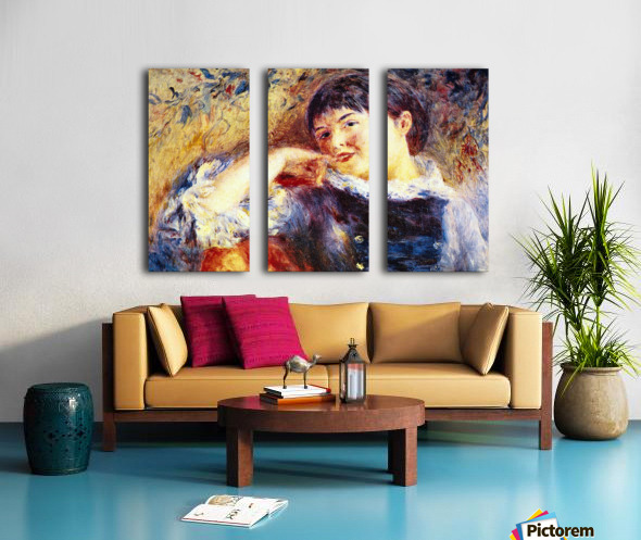 The Dreamer by Renoir Split Canvas print