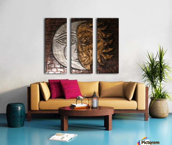 Fusion Split Canvas print