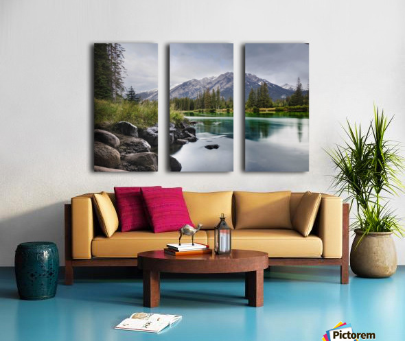 Evening Bliss Split Canvas print
