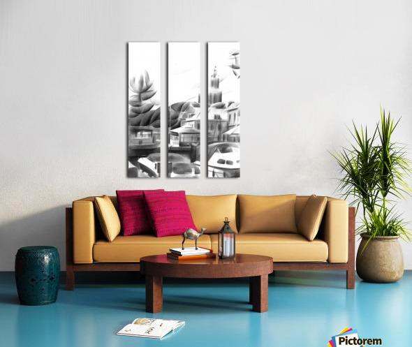 Vlaardingen - 14-09-16 Split Canvas print