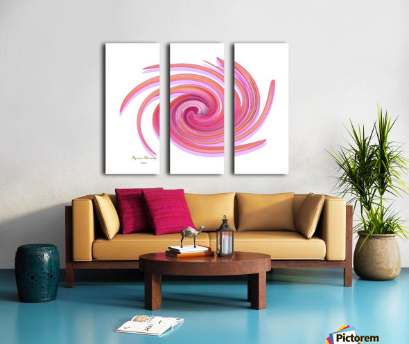 The whirl, W1.3A Split Canvas print