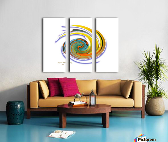 The whirl, W1.11A Split Canvas print