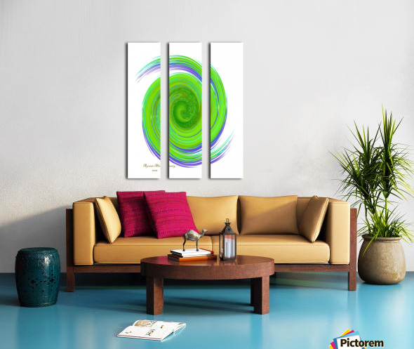 The whirl, W7.1A Split Canvas print