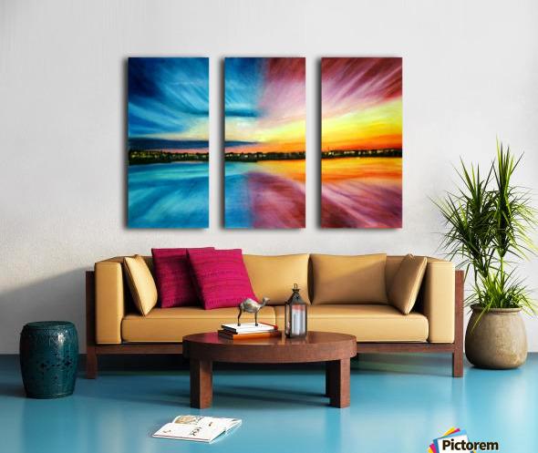 Divine Beautitude Split Canvas print
