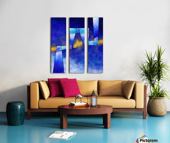 Kefharia V1 - cubic vision Split Canvas print