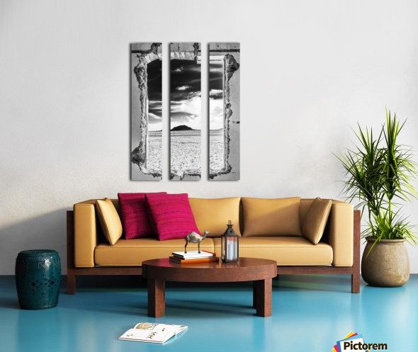 Out There! Split Canvas print