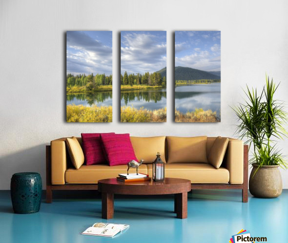 Snake River Charm Split Canvas print