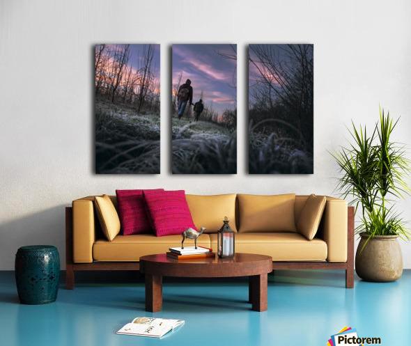 Under cover  Split Canvas print