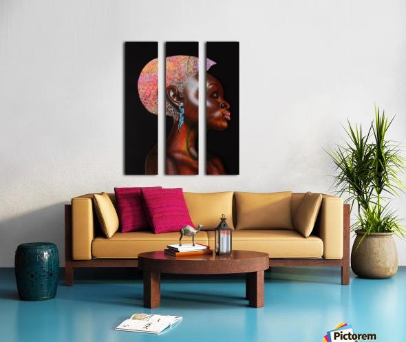 Nzinga Split Canvas print