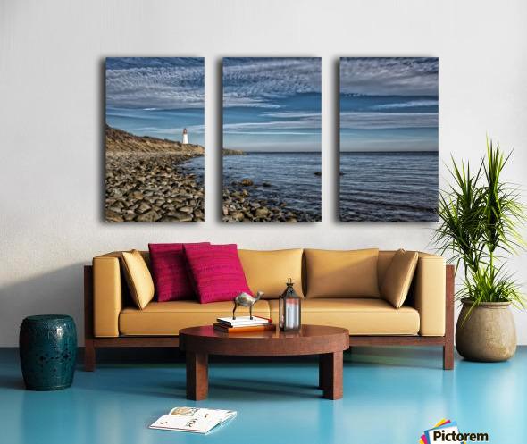 Low Point Lighthouse - Nova Scotia Split Canvas print