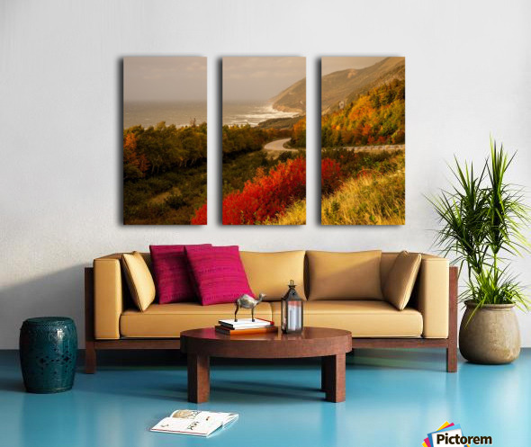 Autumn on the Cabot Trail Split Canvas print