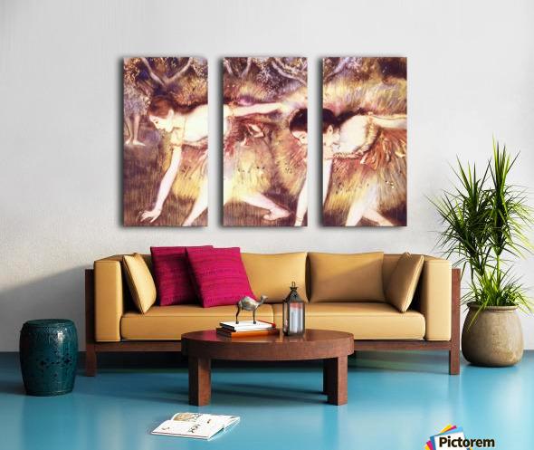 Two Dancers by Degas Split Canvas print
