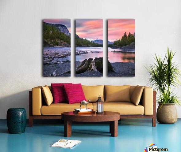 Daylight Split Canvas print