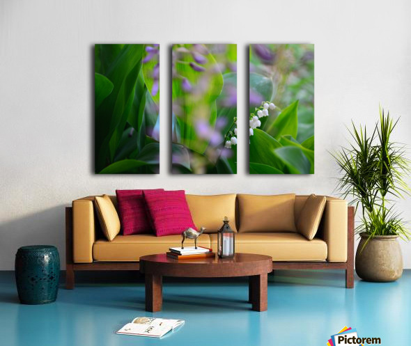 Spring dream Split Canvas print