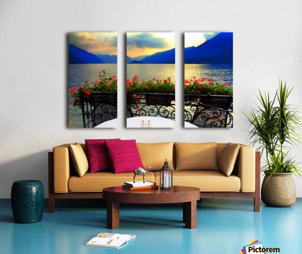 Unspoiled Beauty Split Canvas print