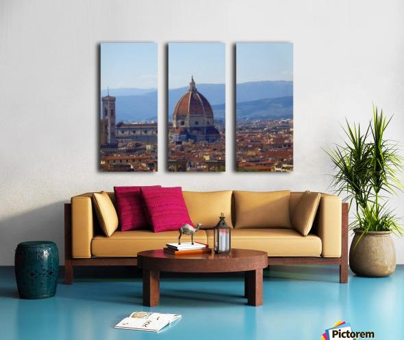 The Magic of Florence Split Canvas print