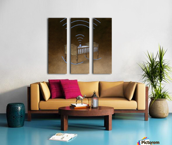wireless Split Canvas print