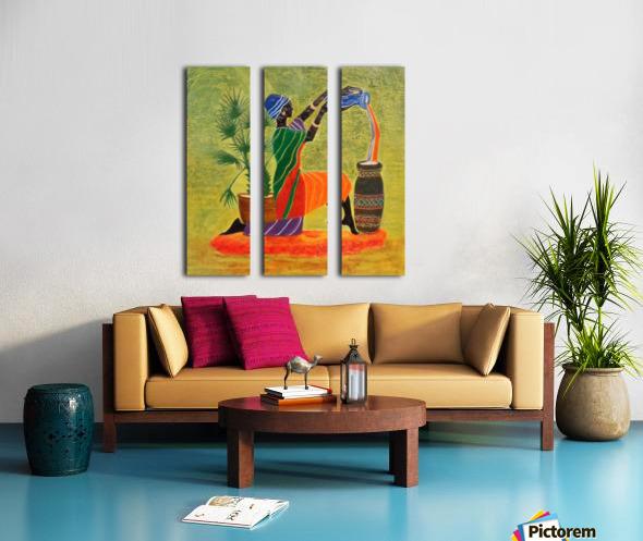 Exquisite Forever Split Canvas print