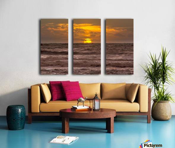 Fire & Water III Split Canvas print