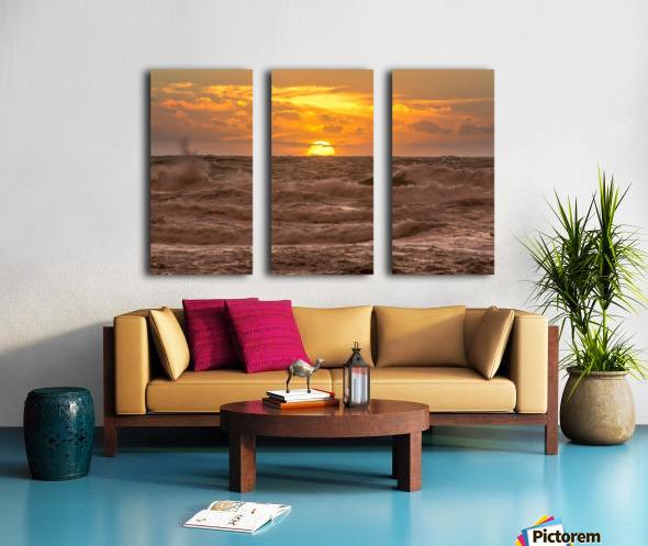 Fire & Water II Split Canvas print