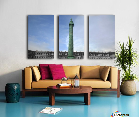Paris Vendome Split Canvas print