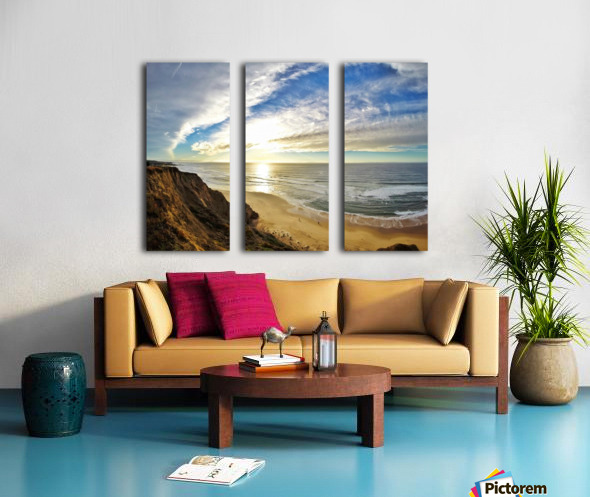 Highway 1  Split Canvas print