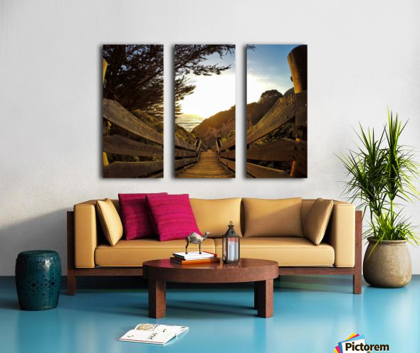 Montara Split Canvas print