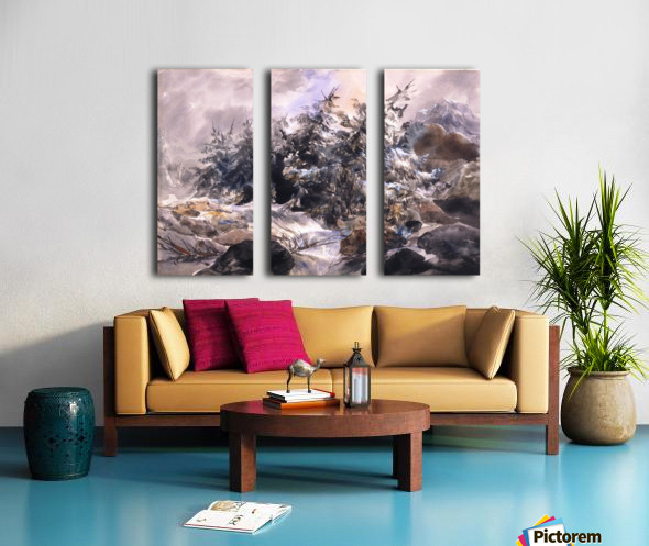 Lorage a la Handeck Split Canvas print