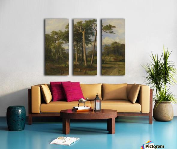 A forest landscape Split Canvas print