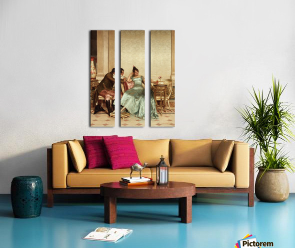 The French Cavaliers Split Canvas print