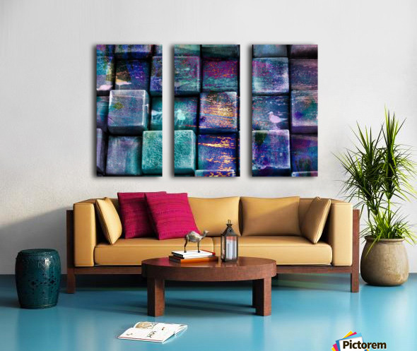 cubes 447703 Split Canvas print