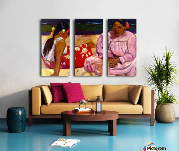 Women of Tahiti by Gauguin Split Canvas print