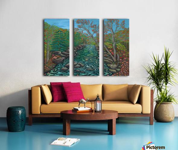 A River View Split Canvas print