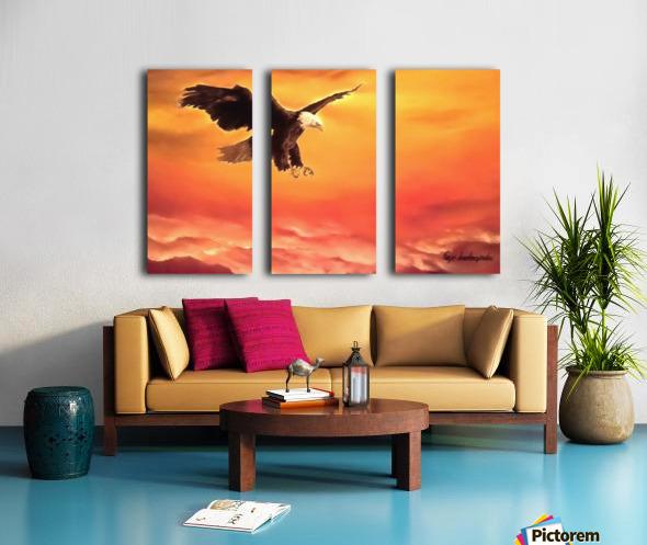 Soaring High Split Canvas print