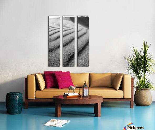 Dune Split Canvas print