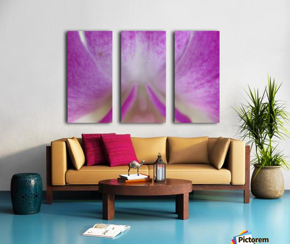 purpletongue2 Split Canvas print